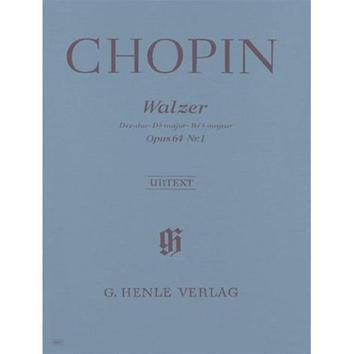 CHOPIN F.: VALZER IN D BEM. MAJ OP. 64 N. 1