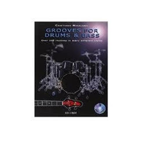 MICALIZZI C.: GROOVES FOR DRUMS & BASS (CON CD)